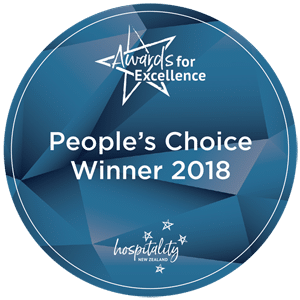 Hospitality New Zealand Award for Excellence